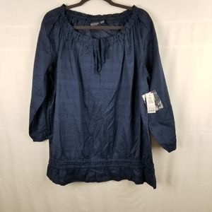 Faded Glory NWT peasant top in size XL